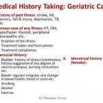 Geriatric Clinico Social Case Taking