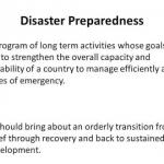 Disaster Management - 2